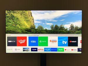 Samsung Electronics QN55Q7F 55-Inch 4K Ultra HD Smart QLED TV (2017 Model) for Sale in McKees Rocks, PA