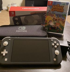 Nintendo Switch Lite - Gray (Like New) for Sale in Walnut Creek, CA
