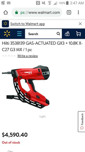 Hilti GX-3 for Sale in Gouverneur, NY
