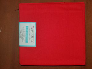 Red 100% cotton fabric for Sale in Dixon, MO