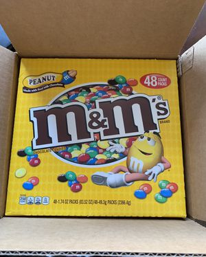 2 Cartons Of 48 Count M&Ms CASE for Sale in West Valley City, UT