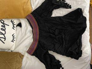 Black flowy blouse for Sale in Dallas, TX