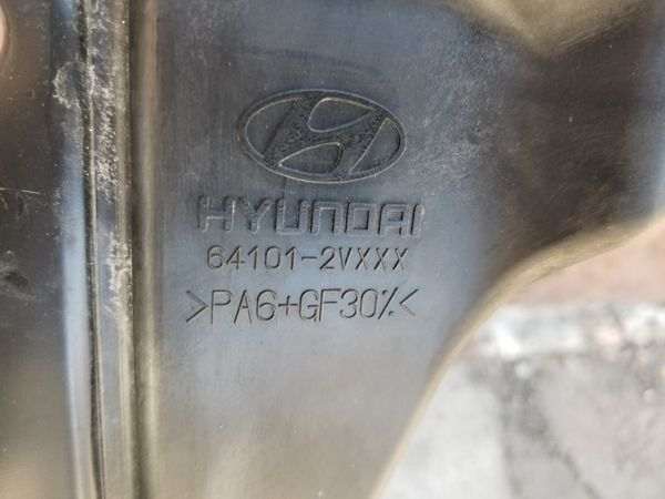 2012 to 2016 Hyundai Veloster Radiador Support and headligth Driver side Oem parts