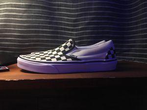Slip on Vans - Checkerboard/True White Men's 9.0, Womens 10.5 - Unisex for Sale in Jupiter, FL