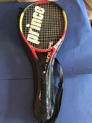 Prince precision equine tennis racket / case for Sale in Setauket- East Setauket, NY