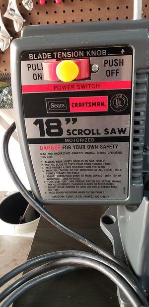 "Scroll saw 18""،good working for Sale in Rancho Santa Margarita, CA"
