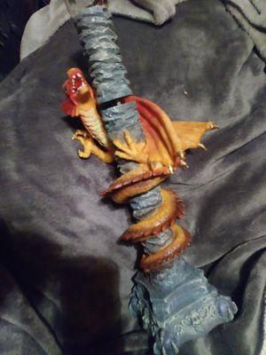 Gaurder orange dragon collector knife for Sale in Sacramento, CA