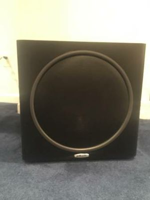 Polk Audio Subwoofer PSW125 Black for Sale in Washington, DC
