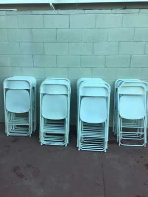 100 used chairs good condition $700 cash no less. for Sale in Los Angeles, CA