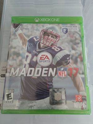 Xbox One Madden 17 for Sale in Seattle, WA
