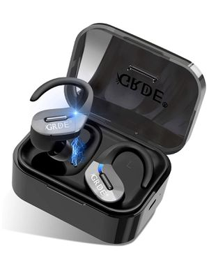 Wireless Earbuds,GRDE Bluetooth 5.0 Headphones 50H Playtime Bluetooth Earbuds TWS 3D Stereo Sound Noise Canceling in Ear Wireless Earphones with Char for Sale in Barre, VT