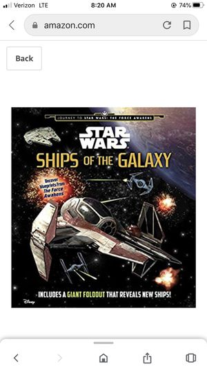 Star Wars: Ships of the Galaxy (Star Wars: Journey to Star Wars: The Force Awakens) for Sale in Savannah, GA