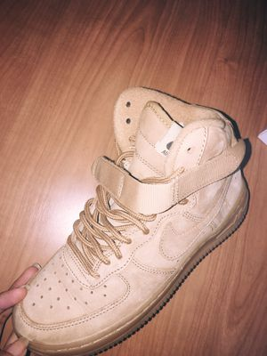 Nike Air Force 1 (Wheat) Size 4Y, Woman's 6-7 for Sale in West Palm Beach, FL