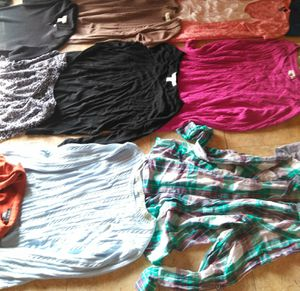 Excellent condition women's clothing size LARGE and EXTRA LARGE for Sale in Port Neches, TX