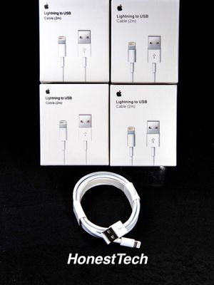 (4X) iPhone Family 6 Foot Charger Pack for Sale in Hampton, VA
