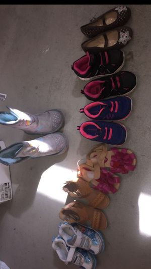 7 pairs of Girls shoes (size 6-7) Great Condition! for Sale in Chino Hills, CA