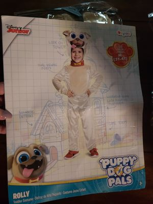 Puppy Pals Rolly Costume 3t/4t for Sale in Sugar Grove, IL