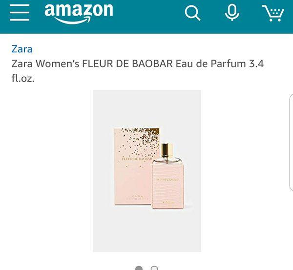Zara Women S Amazonia Tree Fleur De Baobar Parfum Chose For Sale In