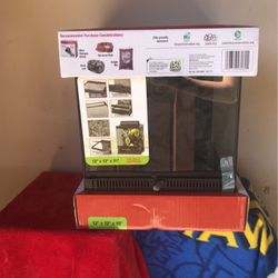 """12"""" X 12"""" X 15"""" It's A Zilla FRont Opening Terrarium for Sale in San Jose,  CA"""