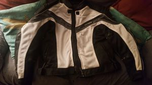 Tourmaster intake series 2 riding jacket and HJC helmet for Sale in Denver, CO