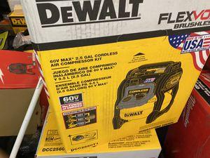 New Dewalt flexvolt 60 volt air compreeeor $200 for Sale in Boston, MA