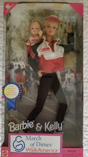 Unopened Barbie and Kelly March of Dimes Walk America 1998 for Sale in Clermont, FL