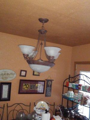 Brown chandelier for Sale in Richmond, TX