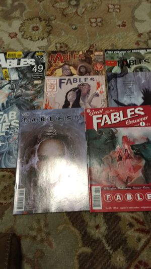 Fables comics lot for Sale in San Antonio, TX