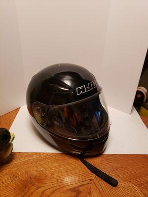 HJC CL-17 Motorcycle/Atv Helmet Gloss Black for Sale in Joplin, MO