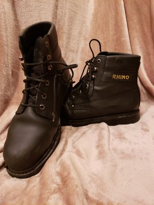 Men's steel toe work boots size 13 for Sale in Romeoville, IL