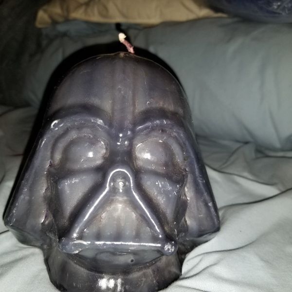 DARTH VADER WAX CANDLE