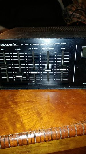 Realistic 80 watt solid-state PA amplifier for Sale in Wahneta, FL