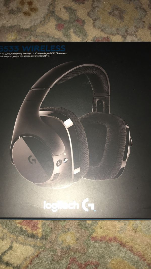 Logitech G533 airless gaming headset  New in box for Sale in Oak Lawn, IL -  OfferUp