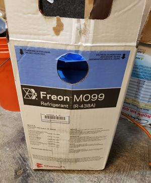 New in box mo99 freon m099 r22 replacement refrigerant Nuevo for Sale in Houston, TX