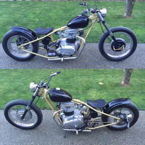 1969 BSA chopper, bobber, motorcycle. Just finished it up. All fresh and ready to go. Triumph British Motorcycle for Sale in Tacoma, WA