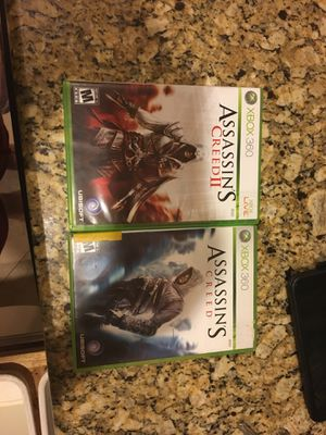 Assassins creed games for Xbox 360 for Sale in Orlando, FL
