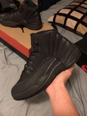 Jordan 12 all black winterized for Sale in Oakland, CA