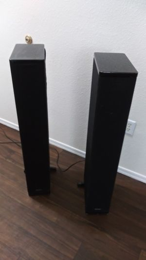 DEFINITIVE TECHNOLOGY BP-2006 BIPOLAR ARRAY TOWER SPEAKERS for Sale in Mesa, AZ