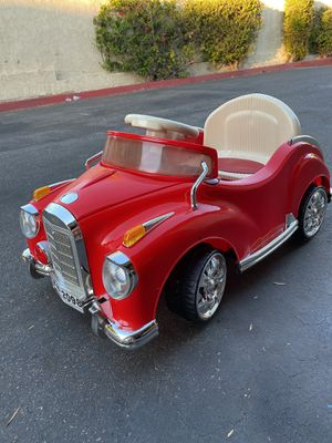 Classic Coupe power wheels kid car for Sale in Santee, CA