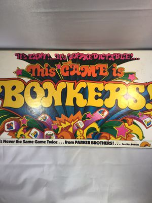 Bonkers 1978 by Parker Brothers for Sale in Phoenix, AZ