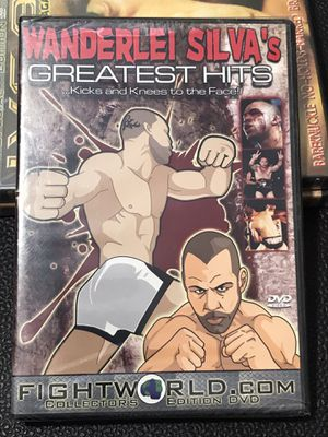 WANDERLEI SILVA'S GREATEST HITS• KICKS & KNEES TO THE FACE !FIGHT•TRAINING•WEIGHT WORKOUT• for Sale in Las Vegas, NV