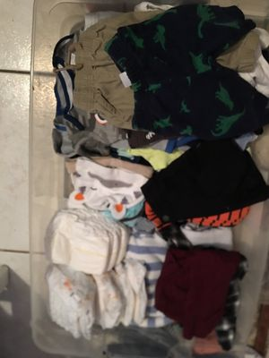 0-3 months,3-6 months, 6 months baby boy clothes for Sale in Hollywood, FL