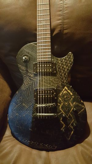 Guitar Epiphone Les Paul gothic for Sale in Los Angeles, CA
