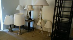 Various Lamps 20-30.00 for Sale in Seattle, WA