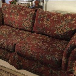 Sofa - Pattern Is Less Busy Than It Appears In Photos for Sale in North Richland Hills,  TX