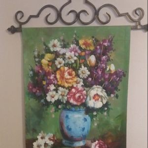 Wall decor item with Vivid Flower colors for Sale in Mansfield, TX