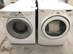 Whirlpool duet frontload washer dryer for Sale in Denver, CO