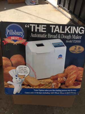 "Pillsbury ""TALKING"" Breadmaker for Sale in Compton, CA"