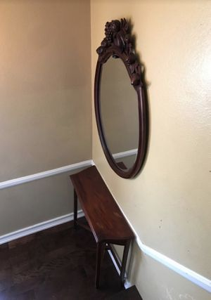 Console table set with matching mirror for Sale in Garden Grove, CA