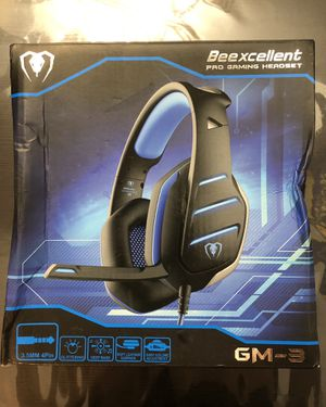 Beexcellent Gaming Headset for PS4 & Xbox One for Sale in Los Angeles, CA
